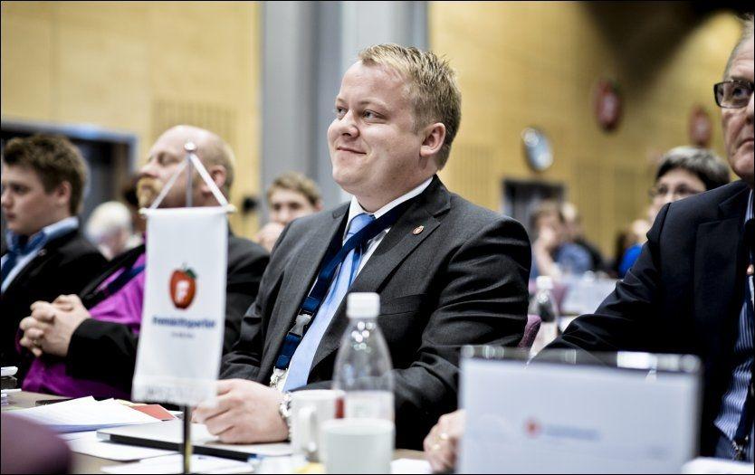 «SNUSPARTIET»: Erlend Wiborg mener forbudsforslagene mot tobakksforebygging er for drøye. Han mener røykere og snusere hetses. Foto: Krister Sørbø/VG