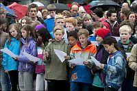 Tusen sang om regnbuen i hele landet