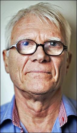 RAMMET AV BOMBEN: Harald Føsker (67). Foto: JØRGEN BRAASTAD Foto: