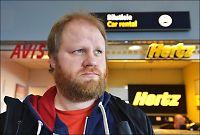 Jan Magne ble nektet å kjøre i Norge med svensk leiebil
