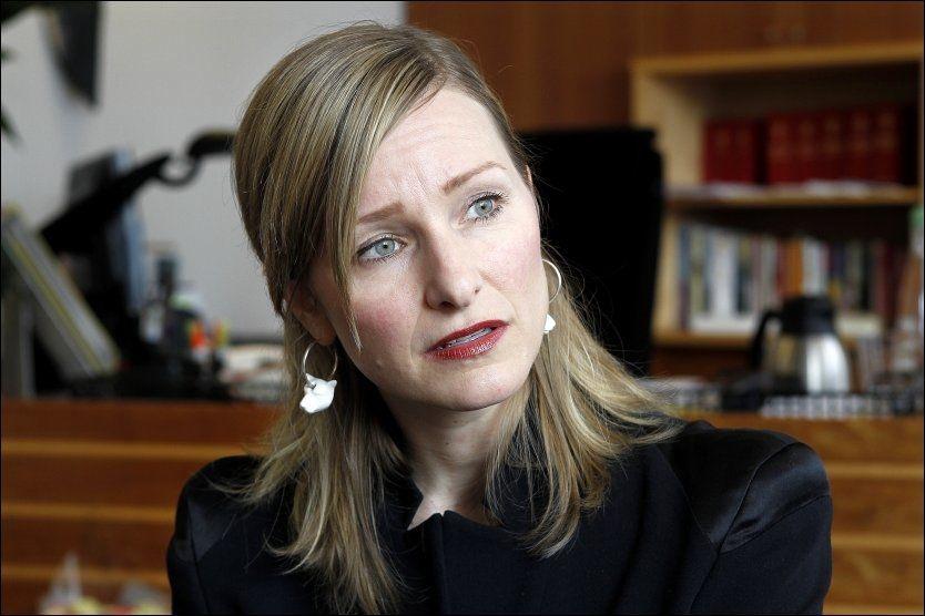 BLANDET SEG: Mens hun fortsatt var stortingsrepresentant, skal statsråd Inga Marte Thorkildsen (SV) ha tatt direkte kontakt med en politietterforsker i en incestsak. Foto: TROND SOLBERG / VG