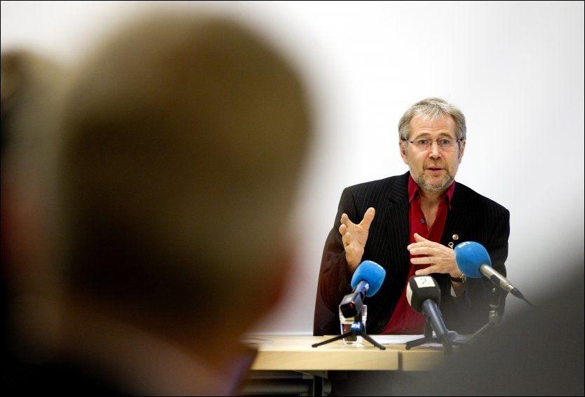 KRITISK: Arne Johannessen, leder i Politiets Fellesforbund, er kritisk til at Inga Marte Thorkildsen (SV) skal ha blandet seg i incestsak. Foto: Håkon Mosvold Larsen / Scanpix
