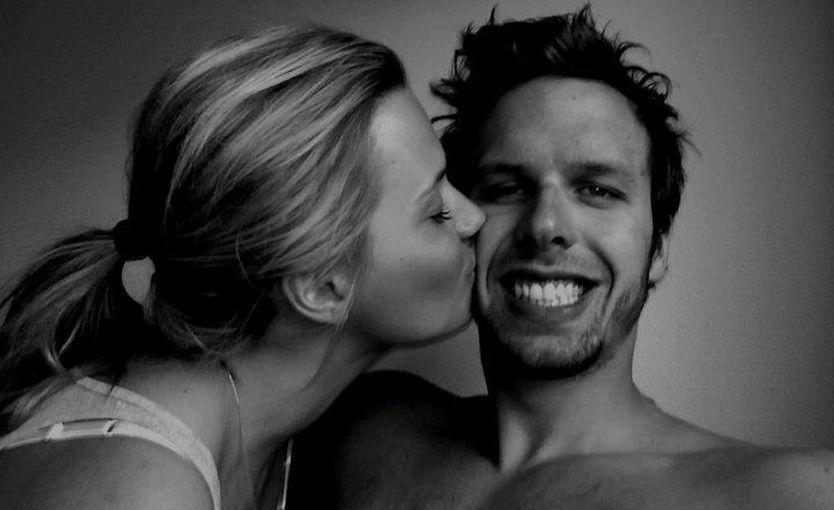 MINNES OEN: Dette bildet la Anja Johansen ut på Facebook for å hedre sin avdøde kjæreste Alexander Dale Oen. Foto: Privat