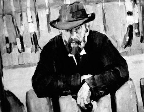 MUNCH-VENN: Forfatter og skribent Hans Jæger, malt av Henrik Lund. Foto: SCANPIX Foto:
