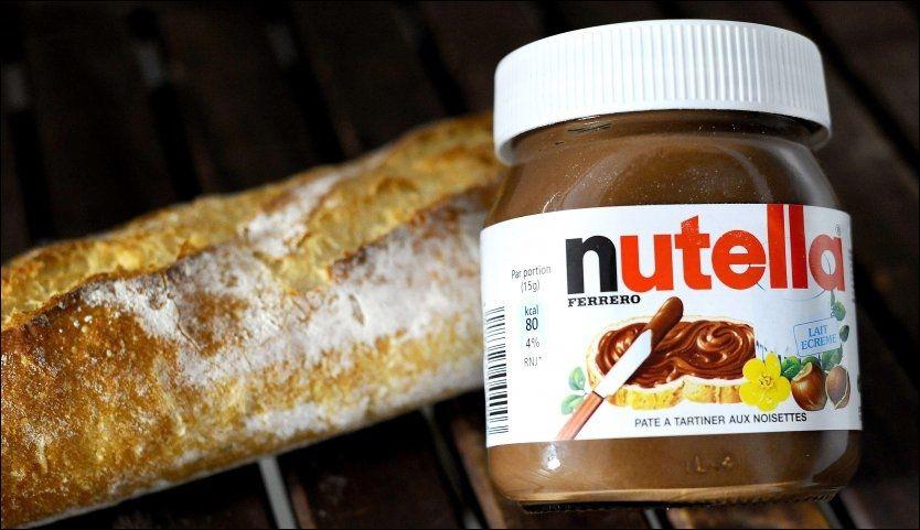 IKKE SUNT: 17,3 millioner kroner må produsenten av Nutella i USA ut med etter å ha tapt i retten. Foto: JOHANNA LEGUERRE/AFP