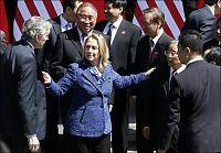 Clinton tar opp menneskerettigheter i Kina