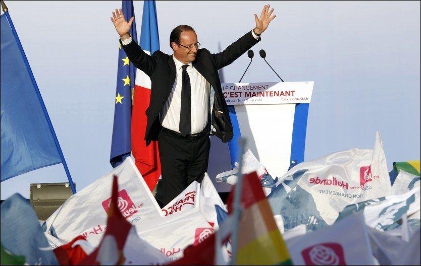 Selvsikker Hollande før siste valgrunde i Frankrike