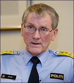 BEKYMRET 1: Fungerende politidirektør Vidar Refvik. Foto: Espen Braata / VG