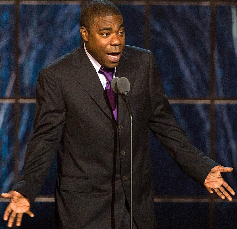 KOLLAPSET - IGJEN: Lørdag kveld kollapset komikeren Tracy Morgan - tre måneder etter at han besvimte på scenen. Foto: AP / SCANPIX