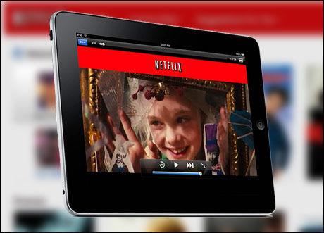 Foto: Netflix er en av mange som lar deg se film og tv på nettbrettet eller mobilen.