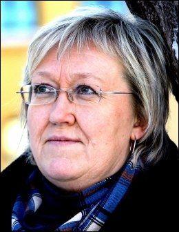 PROVOSERT: Elisabeth Aspaker reagerte spontant på Kristin Halvorsens uttalelser i debattprogrammet. Foto: Jan Petter Lynau