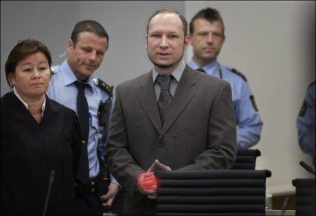 NEKTER HJERNESCANNING: Anders Behring Breivik har nektet psykiaterne å scanne hjernen hans. Ved hjelp av slike undersøkelser sier britiske forskere at de har klart å finne ut om menn er psykopater eller ikke. Rettspsykiater Henning Værøy mener Breivik har psykopatiske trekk, selv om han mener han er tilregnelig. Foto: Helge Mikalsen, VG