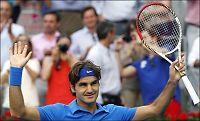 Federer til topps i Madrid Masters