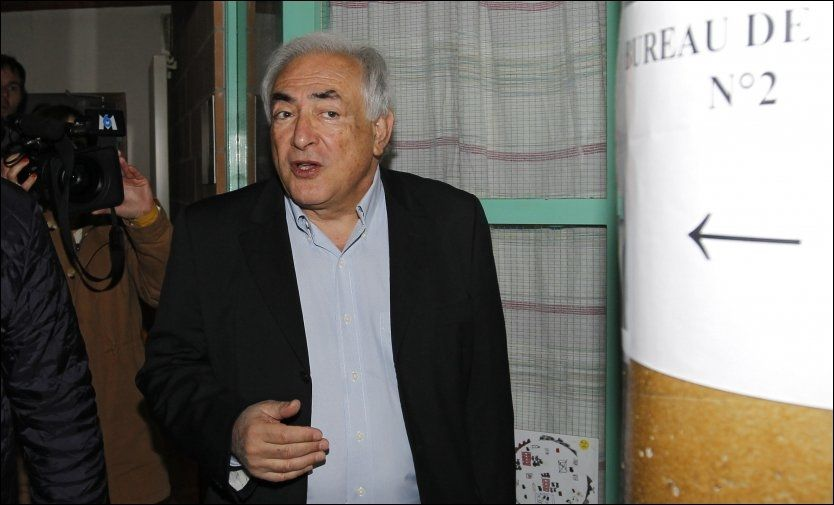 KREVER ERSTATNING: Tidligere IMF-sjef Dominique Strauss-Kahn saksøker stuepiken som i fjor anmeldte ham for voldtekt i New York. Foto: Reuters / NTB scanpix