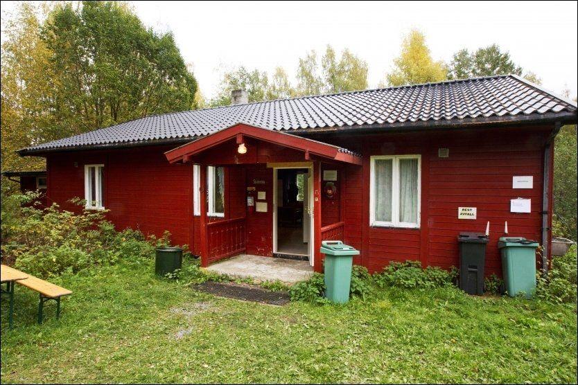 SKOLESTUA: 47 mennesker gjemte seg her, mens Anders Behring Breivik gikk rundt og drepte på øya. Foto: FRODE HANSEN