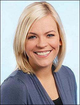 STUSSET: NRK-profil Carina Olset. Foto: NRK