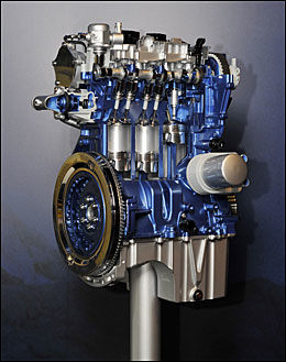KAN DRA MER: Enlitersmotoren kan dra mer hengervekt med 125 hestekrefter, 1200 kilo, mot 1000 kilo som 100-hester. Foto: Produsent.