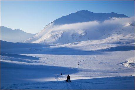 FAVORITT: Ian Wright elsker alt som ligger nord for polarsirkelen. Derfor er det kanskje ikke så rart at Svalbard er hans absolutte norgesfavoritt. Foto: KARIN BEATE NØSTERUD / VG