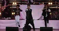 Bieber sang mer enn planlagt - lovet å komme tilbake
