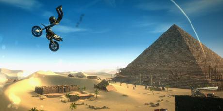 Dette skal være et bilde fra Microsofts nye motocross-spill. (Kilde: PlayXBLA)