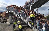 Politiet dekker til Bieber-sperringene - håper folk drar