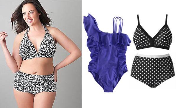 c3821cb8 Velg en bikinitruse med høyt liv og en overdel som holder brystene på plass  - gjerne i mønstrete stoff.