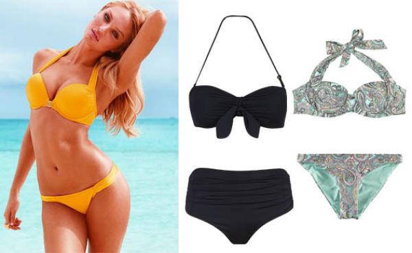 1640daa3 TIPS: Har du litt brede hofter, store bryster og smal midje kan du i  utgangspunktet velge blant flere forskjellige bikinityper.