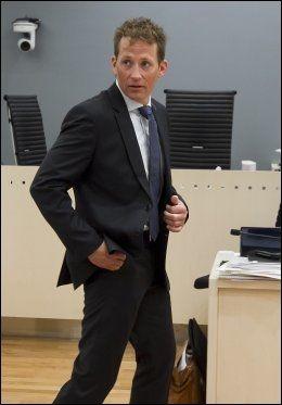 VITNET II: Politibetjent Geir Egil Løken. Foto: HEIKO JUNGE, NTB SCANPIX