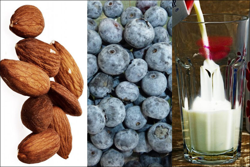 FULLE AV ANTIOKSIDANTER: Blåbær er stappfulle av antioksidanter - men EU mener at det ikke finnes nok vitenskapelig bevis for at de styrker kroppens immunforsvar. Helsepåstander om meieriprodukter og mandler blir også ulovlig. Foto: FOTO: JAN OVIND/ LINE MØLLER/ESPEN SJØLINGSTAD HOEN