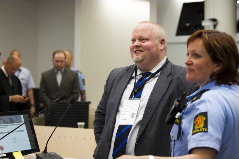 HYBRID: Historiker Nikolai Brandal karakteriserer Anders Behring Breivik som en «hybrid terrorist». Foto: Scanpix