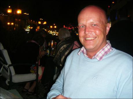 ENGASJERT: Eksnarkomane Ronny Hansen ble lagt inn på Phonenix Haga-senteret. Han klarte å bli rusfri i løpet av fire år. Foto: Privat