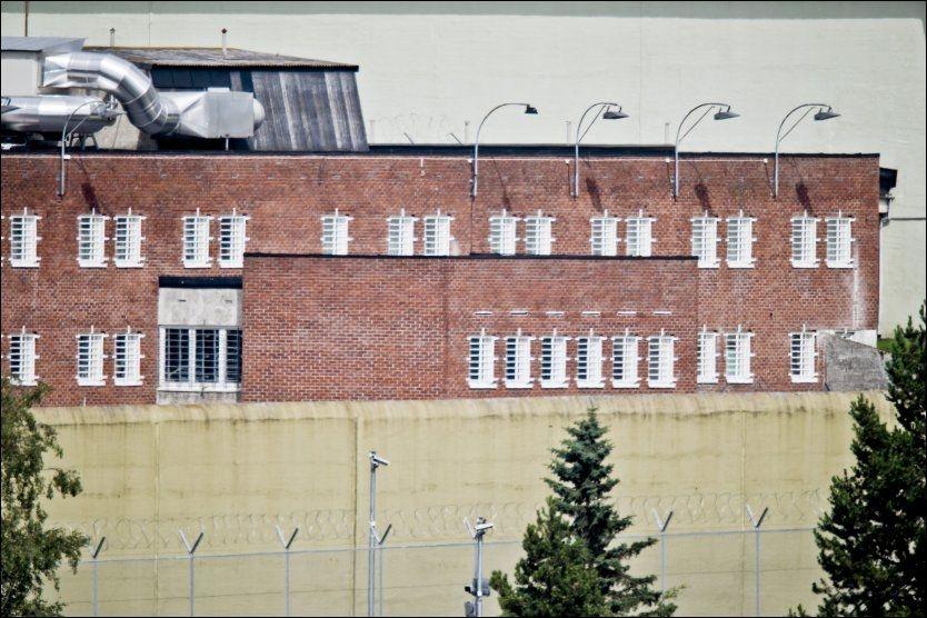 FENGSELSSYKEHUSET: I denne delen av Ila fengsel bygges nå et enmanns psykiatrisk sykehus for Anders Behring Breivik. Foto: Krister Sørbø