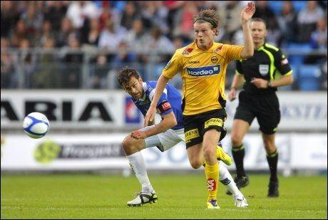 SELGES: Björn Bergmann Sigurdarson blir etter alt å dømme solgt fra LSK i nærmeste fremtid. Foto: NTB Scanpix