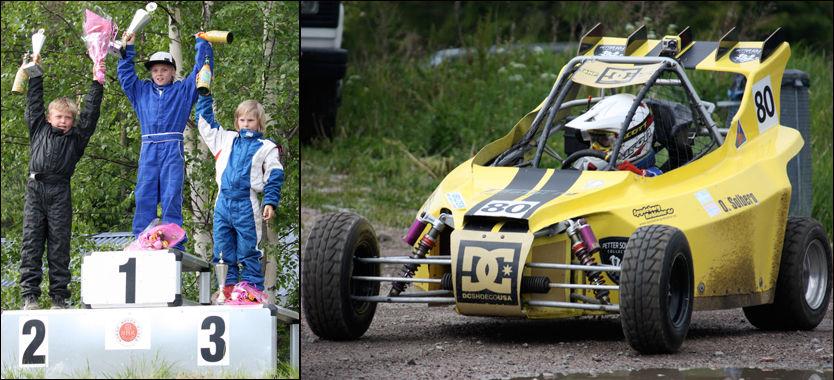 VANT: Oliver Solberg tok sesongens første NM-seier, da han gikk til topps på Flå. Foto: Pernilla Solberg