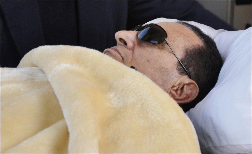 Mubarak: - De ønsker å drepe meg