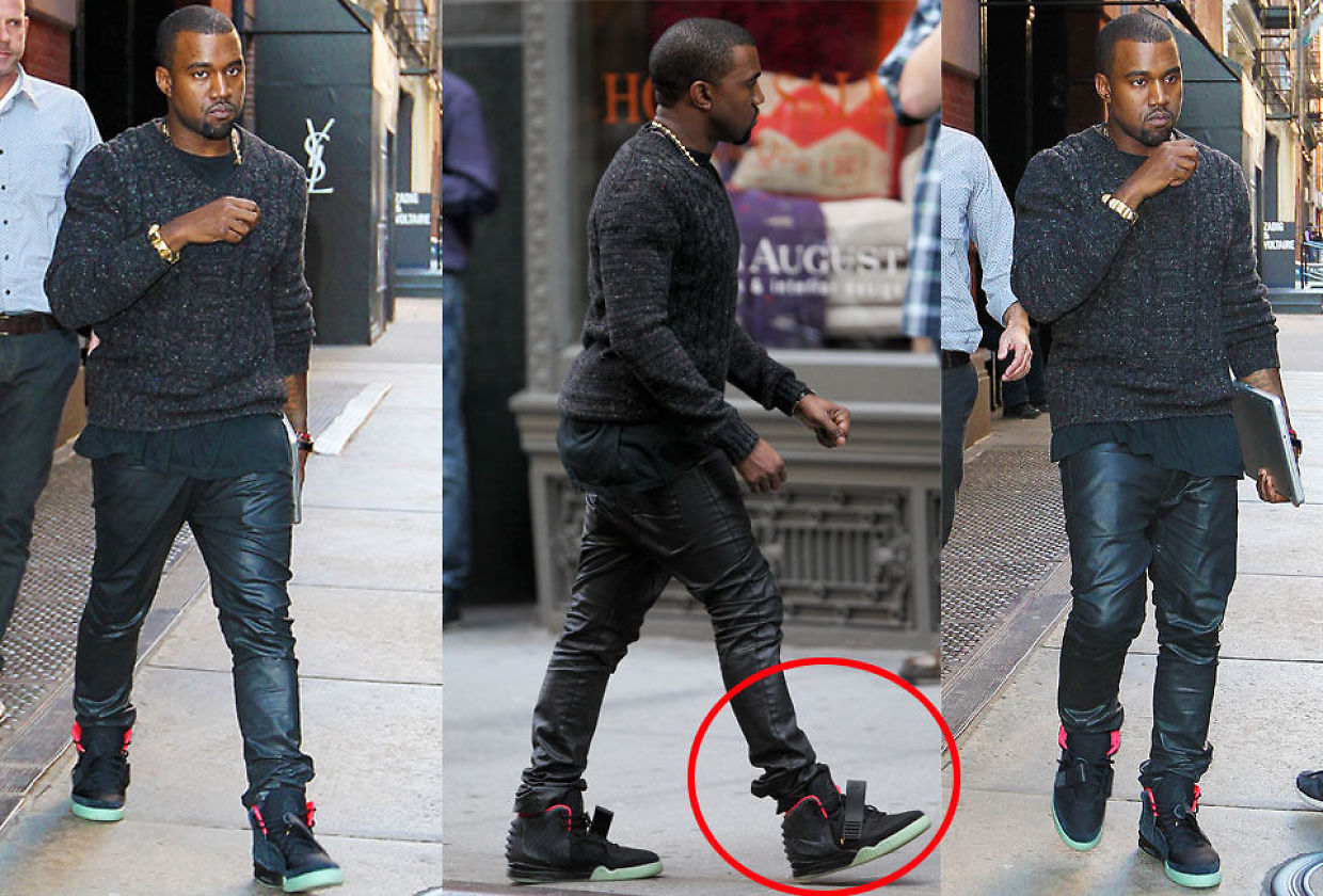 Full Collection of Kanye's Nike Air Yeezy Sneakers Going for