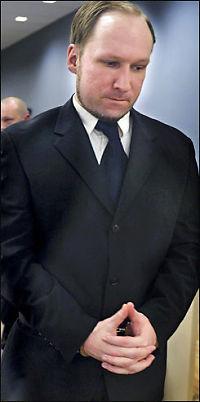 Breivik omtaler godteri som militærstrategi i encellestruktur