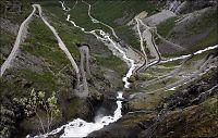 Trollstigen blir nasjonal turistvei