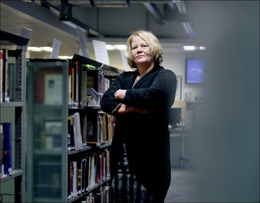 IKKE OVERRASKET: Gro Elisabeth Paulsen i Lektorfaget sier elevene kan for lite matte når de går ut av ungdomsskolen. Foto: Krister Sørbø, VG