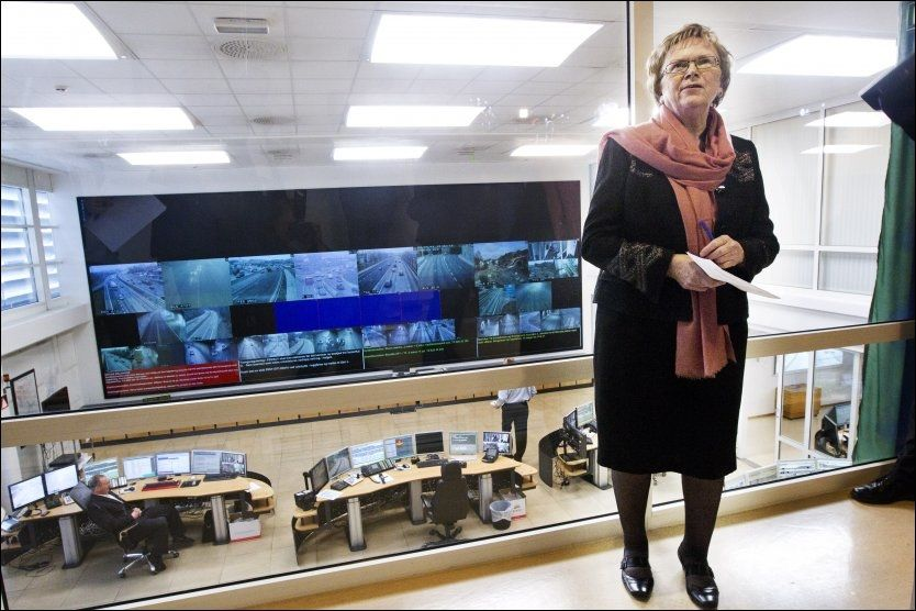 FAVORITT: Samferdselsminister Magnhild Meltveit Kleppa spås å bli ny fylkesmann i Rogaland når Tora Aasland går av i månedsskiftet november-desember. Foto: Frode Hansen, VG (Arkivfoto)