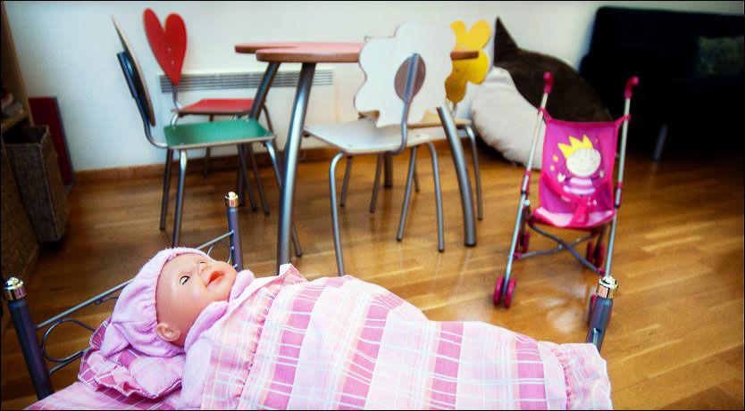 BARNAS HUS: Barnehusene har kompetanse til å møte barn og ungdom som møter rettsapparatet. Her fra Lekerommet i Barnehuset på Hamar. Foto: SCANPIX