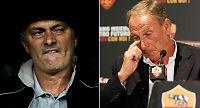 Roma-trener Zeman i ordkrig med Mourinho