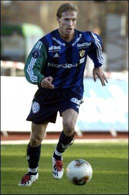 2003-UTGAVEN: Her er Christian Wilhelmsson i aksjon mot Odd Grenland i april 2003. Foto: Scanpix