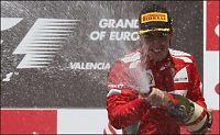 Alonso feiret foran eget publikum