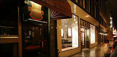 PÅ BYEN: Voldsepisoden Pracon er tiltalt for skjedde på utestedet London Pub, i Oslo sentrum. Foto: ARKIVFOTO