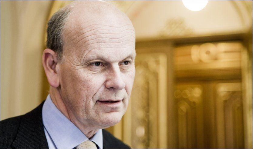 PROFITT-JA: Høyres Michael Tetzschner mener norsk skole blir bedre med større privat konkurranse - særlig hvis eierne kan tjene penger på de private skolene. Foto: Scanpix