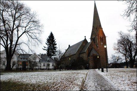 ØSTKANTSLEKT: Martin Gundersen bodde trolig i nærheten av presteboligen på Vålerenga, her avbildet til venstre, før han utvandret til USA i oktober 1882. Foto: Scanpix