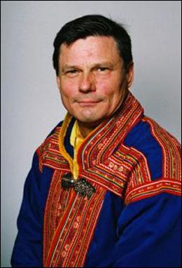 PROFESSOR: Ole Henrik Magga, professor i samisk ved Universitetet i Tromsø. Foto: Privat