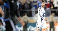 Hissig Beckham i krangel med motspillere - og maskot