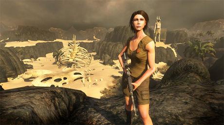 MENNESKELIG: Fantastiske skapninger er vanlig i onlinerollespill. I «The Secret World» er rollefiguren din et helt vanlig menneske - med uvanlige evner. Foto: FUNCOM/ELECTRONIC ARTS